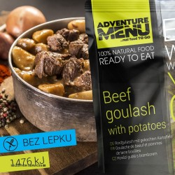 Adventure Menu Beef Goulash With Potatoes