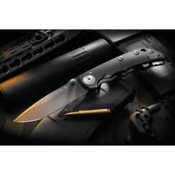 Spartan Blades Harsey Folder - Black