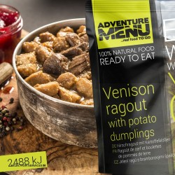 Adventure Menu Venison Ragu With Potato Dumplings