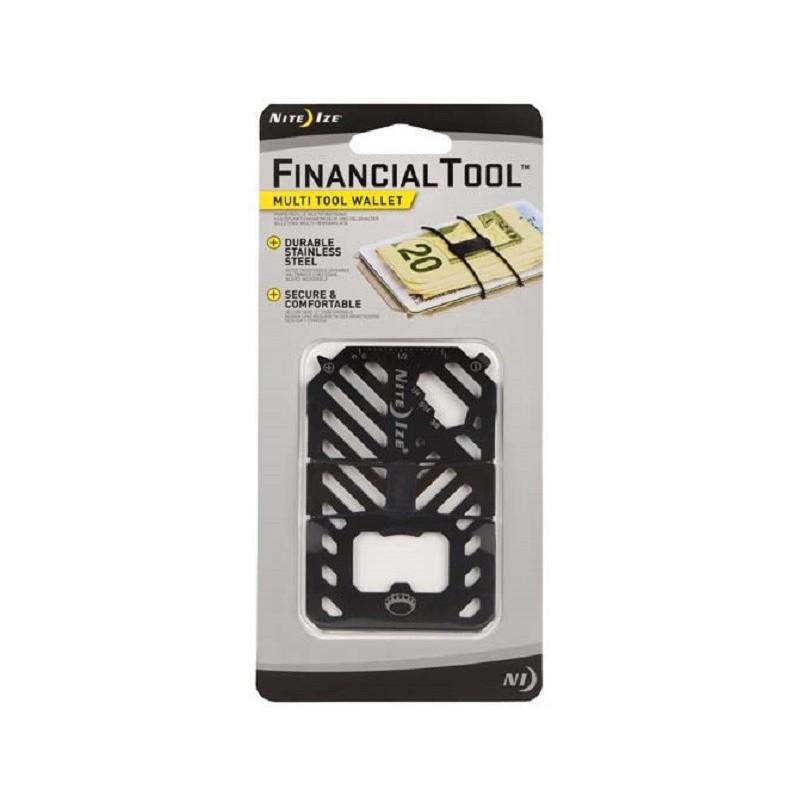 NITE IZE Financial Tool černý