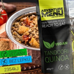 Adventure Menu Tandoori Quinoa Vegan