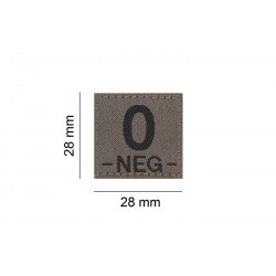 Clawgear Krevní skupina 0- negativní