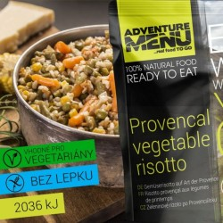 Adventure Menu Provencal Vegetable Rizotto