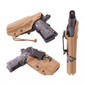 First Spear Vnitřní kydexové pouzdro GLOCK 17/22 SSV In-The-Belt Holster, Appendix/Kidne