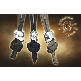 Spartan Blades Para-Cord Lanyard with Shield Bead
