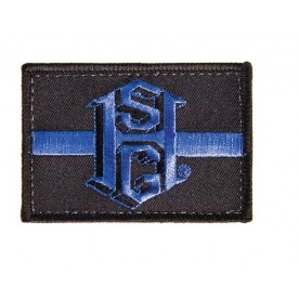 High Speed Gear Nášivka  Black HSGI® THIN BLUE LINE PATCH