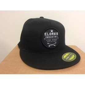 ELORNIS INDUSTRY Kšiltovka Snap Back Flexfit 210 BLACK
