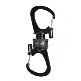 Nite Ize SLIDELOCK® 360° MAGNETIC LOCKING DUAL CARABINER