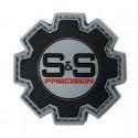 S&S Precision Rubber Logo patch