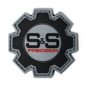 S&S Precision Rubber Logo patch