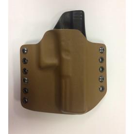 RH Holsters Kydexové pouzdro vnější Glock 17 poloviční sweatguard