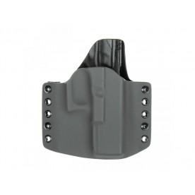 RH Holster G17 šedá/černá poloviční Sweatguard Levé