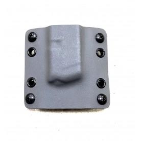 RH pouzdro na zásobník Glock 43 šedé