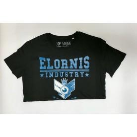 Pánské triko ELORNIS INDUSTRY COLADGE BLK