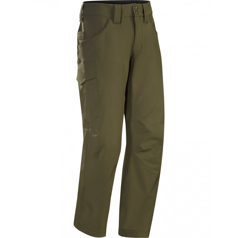 Arc'teryx LEAF Softshellové Kalhoty Patrol AR Ranger Green