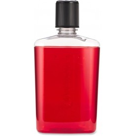Nalgene Flask - Red with Black Cap