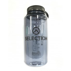 LÁHEV NALGENE WIDE MOUTH 1L GRAY WITH BLACK CAP